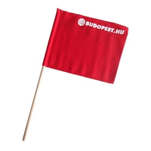 Referee flag, WKF, red