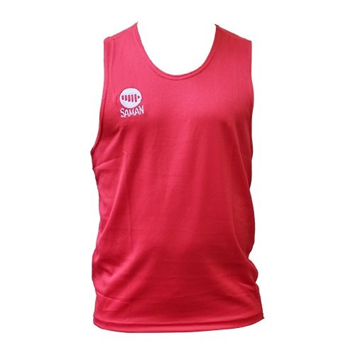 Boxing Vest, Saman, Competition, red, XS size