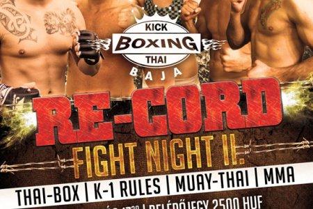 Re-Cord Fight Night II November 29.-én a Székely Budo-Sport támogatásával