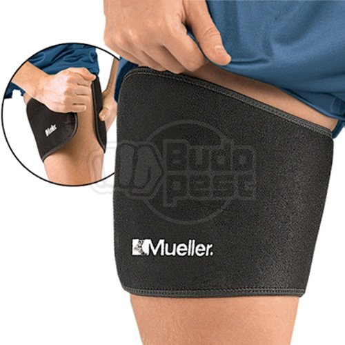 Thigh Support, Mueller, black, one size