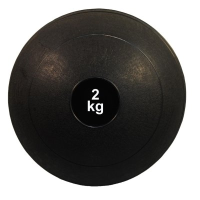 Medicine ball, Phoenix, black, 2 kg