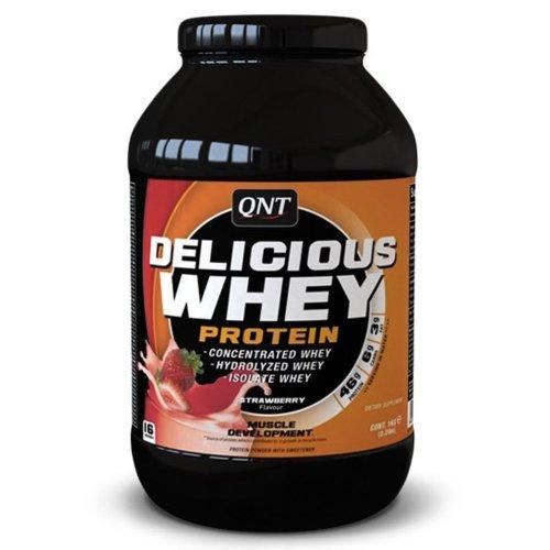 QNT USA, Delicious Whey Protein 908 g, 6 ízben