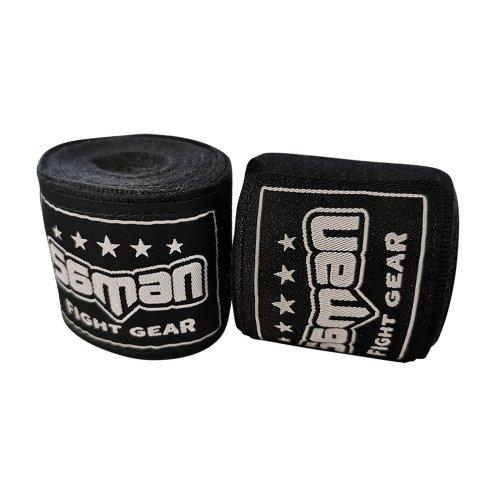 Bandage, Saman, 350 cm, flexible, black