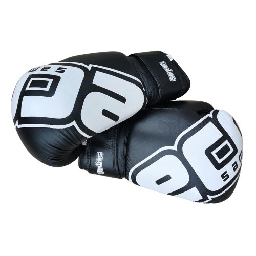 Boxing Gloves, Saman Eco, leather, black