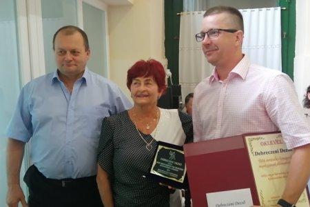 Békés megye: Debreczeni Dezső elismerése!