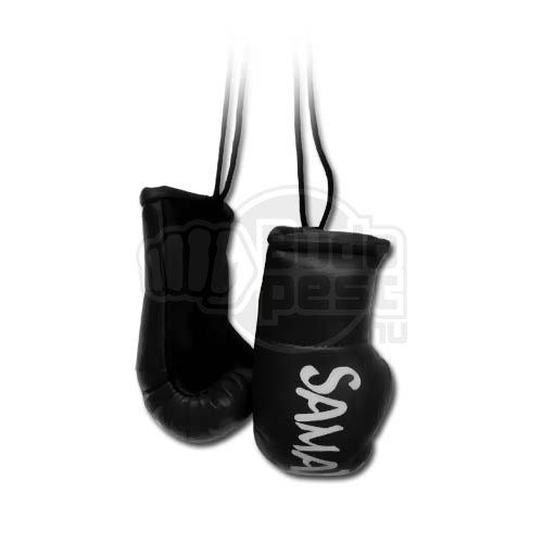 Mini Boxing Gloves, Saman, Hang-up, pair, black