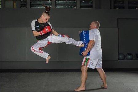 Megvédheti világbajnoki címét szombaton a kick-boxos Rákóczi Renáta
