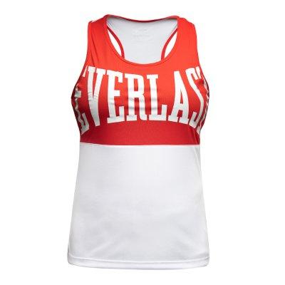 Box felső, Everlast, Laly Tank, női, fehér-piros