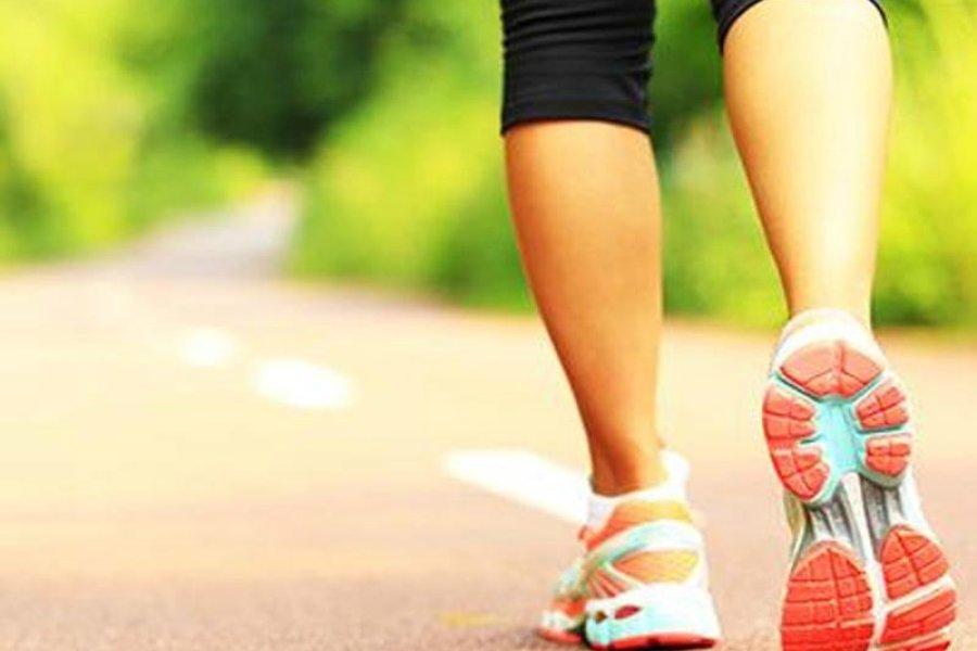Edzés-kiegészítés gyaloglással