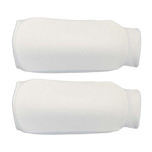 Forearm pads, cotton, white, XL size
