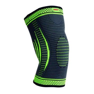 Knee Support, Madmax, 3D compressive, green