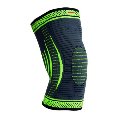 Knee Support, Madmax, 3D compressive, green, S size