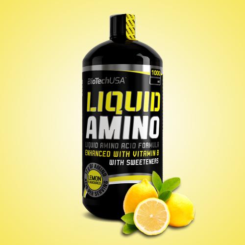 Biotech, Liquid Amino, 1000 ml, Lemon