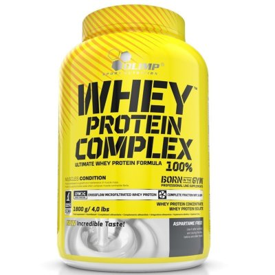 Olimp Whey Protein, 1800 g, Strawberry Flavor