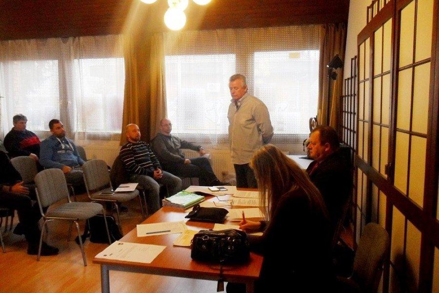 Közgyűlést tartott a Békés Megyei Harcművész Szövetség