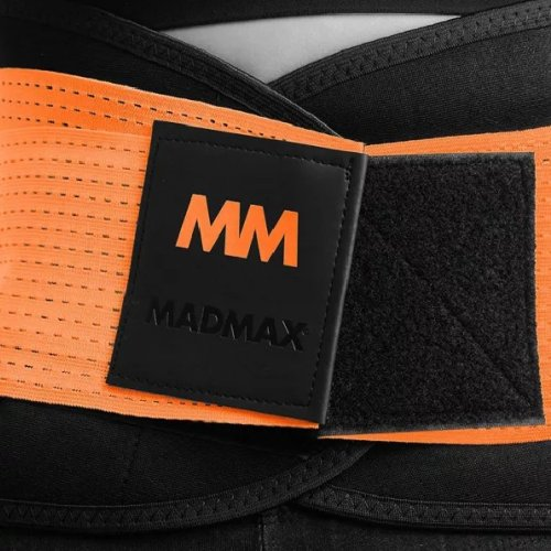 Slimming and support belt, Madmax, Fekete szín, M méret