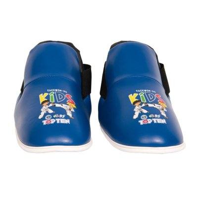 "ITF Kicks ""ITF Kids"" foot protector, foot gear - red"