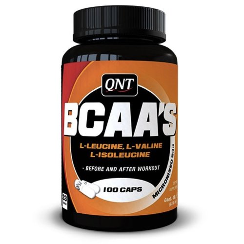 QNT, BCAA's + vit. B-6, amino acid, 100 caps