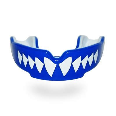 Mouthguard, SAFEJAWZ, Shark, Gel, Blue