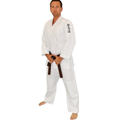 Aikido ruha, Phoenix, Aikido Gi, 450g, fehér