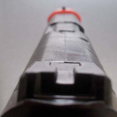 Rubber pistol