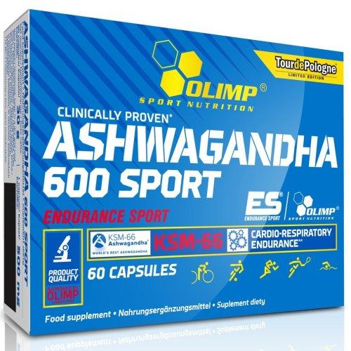 Olimp, Ashwagandha 600 Sport Edition, 60 capsules